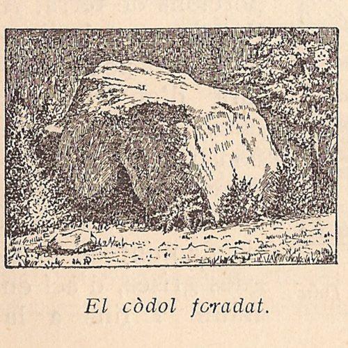dibuix Viñeta codol foradat